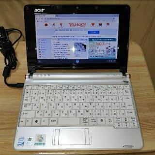 エイサー(Acer)のacer Aspire one ZG5 CloudRady導入済(ノートPC)