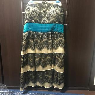 アナップラティーナ(ANAP Latina)のベアトップドレス(ミニドレス)