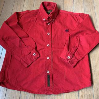 Timberland - ティンバーランド 赤 ボタンダウン シャツ