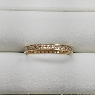K18 ダイヤモンドリング フルエタニティ(リング(指輪))