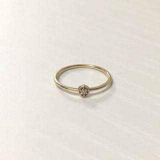 ジュエティ(jouetie)のK10 指輪 ダイヤモンド ピンキーリング jouetie (リング(指輪))