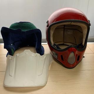 BELL MOTO4 ビンテージ ヘルメット 当時物 7 1/4 約58cm(ヘルメット/シールド)