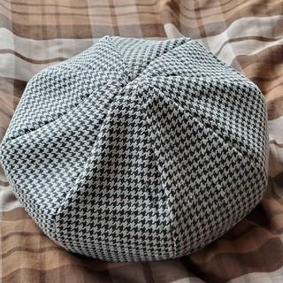 カシラ(CA4LA)のMATSUI HAT ラムレザー ベレー帽(ハンチング/ベレー帽)