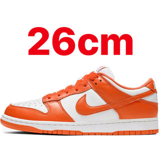 ナイキ(NIKE)のNIKE DUNK LOW SYRACUSE ORANGE 26cm(スニーカー)