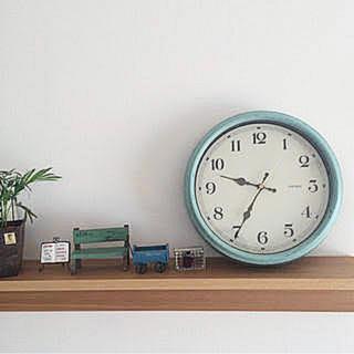 フランフラン(Francfranc)の【Francfranc】アンティーク時計💐(掛時計/柱時計)