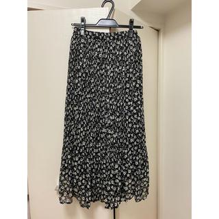 エージーバイアクアガール(AG by aquagirl)の花柄ロングスカート(ロングスカート)