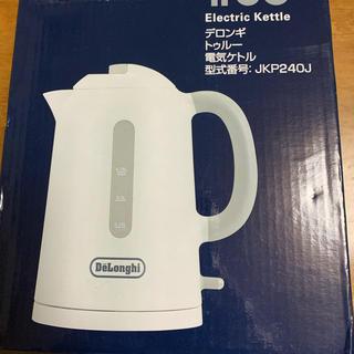 デロンギ(DeLonghi)のデロンギ ケトル 未使用 JKP240J  新品(電気ケトル)