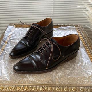 マークジェイコブス(MARC JACOBS)のMARC JACOBS マークジェイコブス ローファー 濃茶(ローファー/革靴)