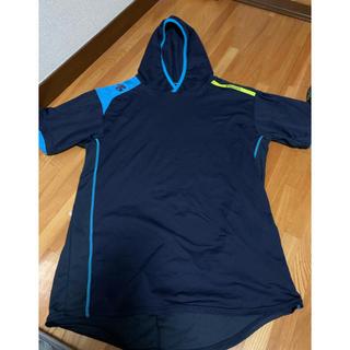 デサント(DESCENTE)のデザント 半袖フード付きTシャツ(その他)