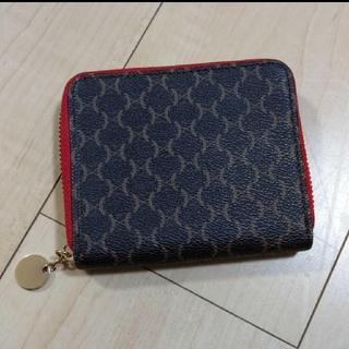シマムラ(しまむら)のしまむら マカダム柄 ラウンドファスナー二つ折り財布(折り財布)