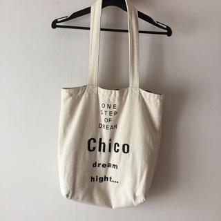 フーズフーチコ(who's who Chico)のノベルティバック(トートバッグ)