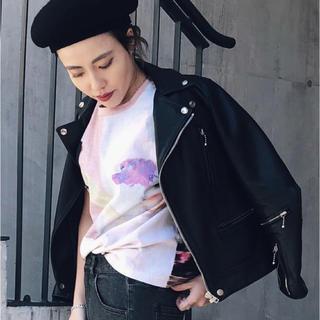 アメリヴィンテージ(Ameri VINTAGE)のAMERI EMILIA PAINT TEE(Tシャツ/カットソー(半袖/袖なし))