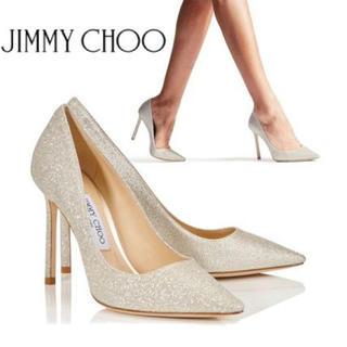 ジミーチュウ(JIMMY CHOO)のJIMMY CHOO ROMY 85XGC パンプス(Silver)(ハイヒール/パンプス)