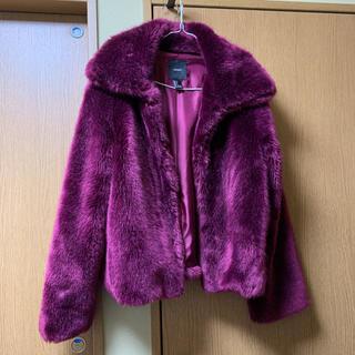 フォーエバートゥエンティーワン(FOREVER 21)の美品 ファーコート(毛皮/ファーコート)
