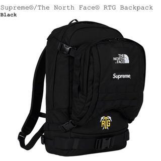 シュプリーム(Supreme)の黒 Supreme North Face RTG Backpack Black(バッグパック/リュック)