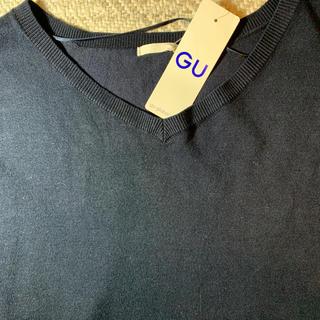 ジーユー(GU)のGU 紺セーター(ニット/セーター)