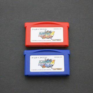 ゲームボーイアドバンス(ゲームボーイアドバンス)のロックマンエグゼ4 ゲームボーイアドバンス(携帯用ゲームソフト)