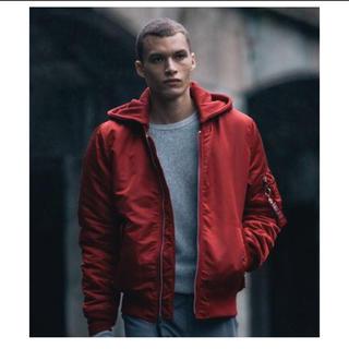 アルファインダストリーズ(ALPHA INDUSTRIES)のalpha industries MA-1 NATUS jacket(ブルゾン)