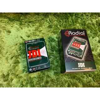 ラディアル(RADIALL)の【Radial JDI】理想的なパッシブ・ダイレクトボックス(エフェクター)