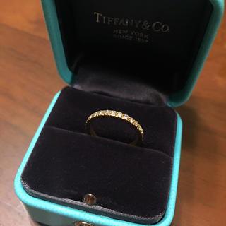 ティファニー(Tiffany & Co.)のティファニー ダイヤモンド リング ノヴォ イエローゴールド 5号 正規品(リング(指輪))