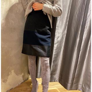 ブラーミン(BRAHMIN)の美品✨ブラーミン スカート(ひざ丈スカート)