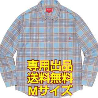 【専用】Supreme Printed Plaid Shirt(シャツ)