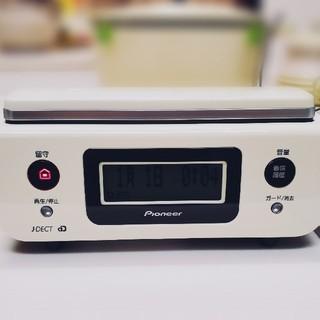 パイオニア(Pioneer)のPioneerデジタルコードレス電話機 TF-FD31S-W(その他)