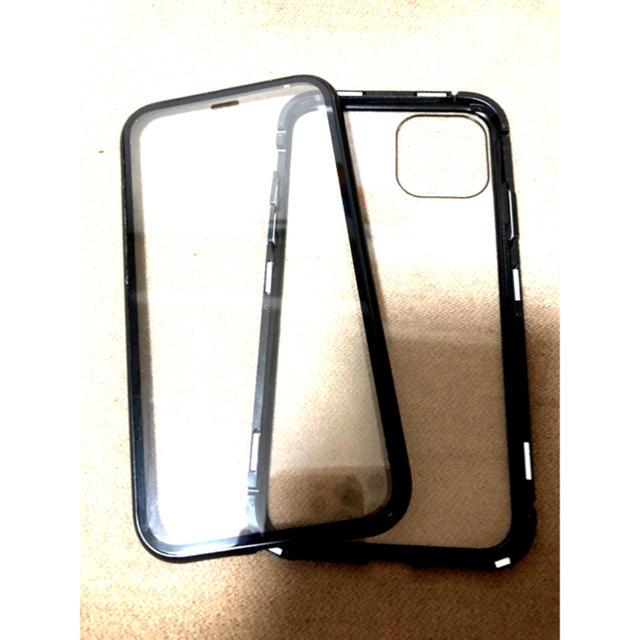 iPhone 11pro ケース カバー マグネットブラック磁気未使用品....の通販 by LUSショップ⭐️セール中⭐️|ラクマ