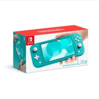「新品 未使用」Nintendo Switch  Lite ターコイズ(家庭用ゲーム機本体)