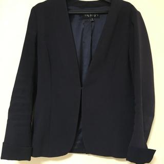 インディヴィ(INDIVI)のインディヴィのスーツジャケット(ノーカラージャケット)