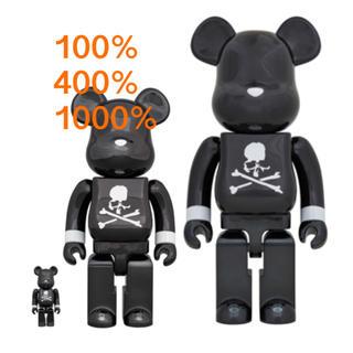 メディコムトイ(MEDICOM TOY)のBE@RBRICK mastermind BLACK 100&400 1000%(その他)