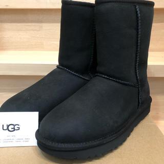 アグ(UGG)のUGG  classic short II ブラック 新品 24cm(ブーツ)