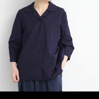 ビュルデサボン(bulle de savon)のyuni オープンカラーシャツ(シャツ/ブラウス(長袖/七分))