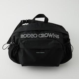 ロデオクラウンズワイドボウル(RODEO CROWNS WIDE BOWL)の新品未使用ブラック ※折り畳み圧縮し配送致します。あらかじめ御了承ください。(その他)