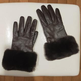 ビューティアンドユースユナイテッドアローズ(BEAUTY&YOUTH UNITED ARROWS)のレザー手袋 本革手袋 スマートフォンタッチグローブ(手袋)