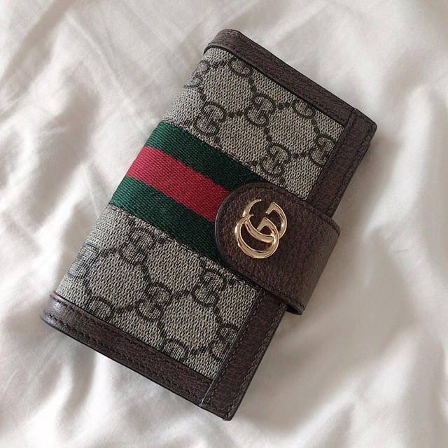 Gucci - 正規 GUCCI 手帳型iPhone7/8ケースの通販