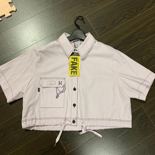 ディーホリック(dholic)のALAND 韓国ファッション 半袖ジャケット(Gジャン/デニムジャケット)