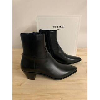 celine - tomack様専用 新品celine19ジャクノブーツ/シャイニーカーフ41 3