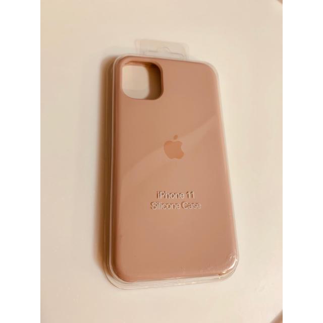 iphone7ケース ヴィトン コピー | iPhone11 純正品 シリコンケース ピンクサンド 新品未開封の通販 by SUMAHO|ラクマ