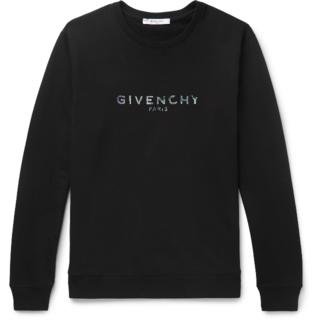 ジバンシィ(GIVENCHY)の新品未使用 GIVENCHY PARIS イリデッセント スウェットシャツ(スウェット)