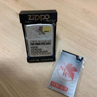 ジッポー(ZIPPO)の☆zippo エヴァンゲリオンコラボ 4(タバコグッズ)