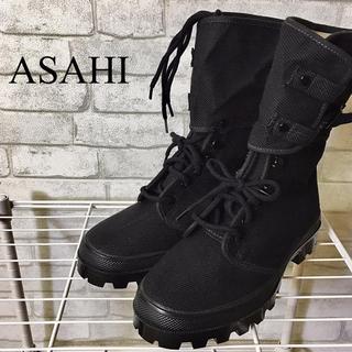 アサヒ(アサヒ)の☆新品未使用☆【ASAHI】アサヒ ベルト付きハイカットブーツ/25cm(ブーツ)