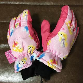 ディズニー(Disney)のディズニー プリンセス スノー 手袋 五本指(手袋)