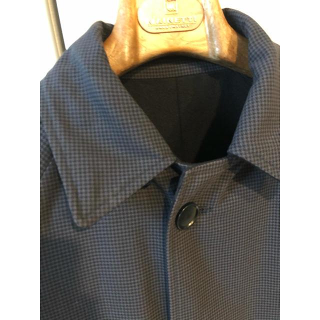 martinique Le Conte(マルティニークルコント)のカシミヤ混ステンカラーコート マルティニーク  リバーシブル  Lサイズ メンズのジャケット/アウター(ステンカラーコート)の商品写真
