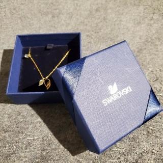 スワロフスキー(SWAROVSKI)の【保証書付】SWAROVSKI ネックレス【Gold】(ネックレス)
