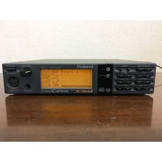 ローランド(Roland)のローランド Roland SC-55mkII MIDI音源モジュール 動作品(音源モジュール)