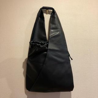 エムエムシックス(MM6)のMM6 ジャパニーズバッグ トートバッグ 黒 マルジェラ フェイクレザー(トートバッグ)