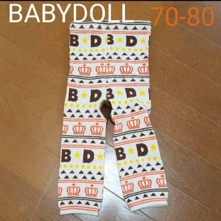 ベビードール(BABYDOLL)のBABYDOLL レギンス 70-80(靴下/タイツ)