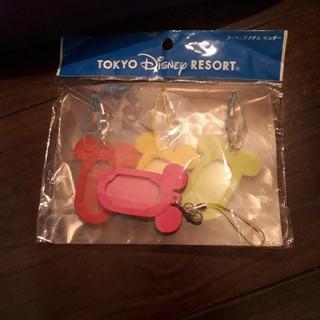 ディズニー(Disney)のディズニーリゾート 新品未使用スーベニアメダルホルダー(キャラクターグッズ)