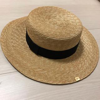 ミラオーウェン(Mila Owen)のMilaOwen カンカン帽(麦わら帽子/ストローハット)